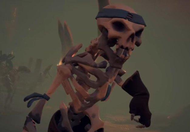 Sea of Thieves. Трейлер DLC Cursed Sails