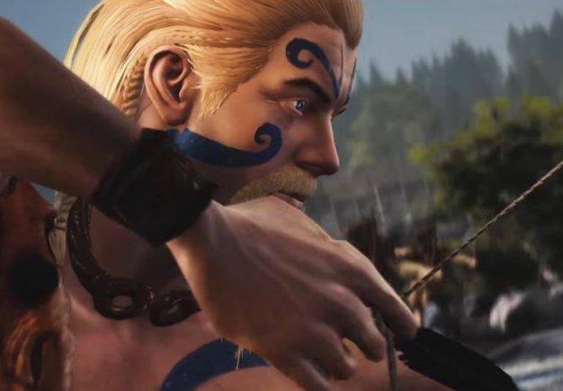 Total War: Arena. Демонстрация персонажа Амбиорикс