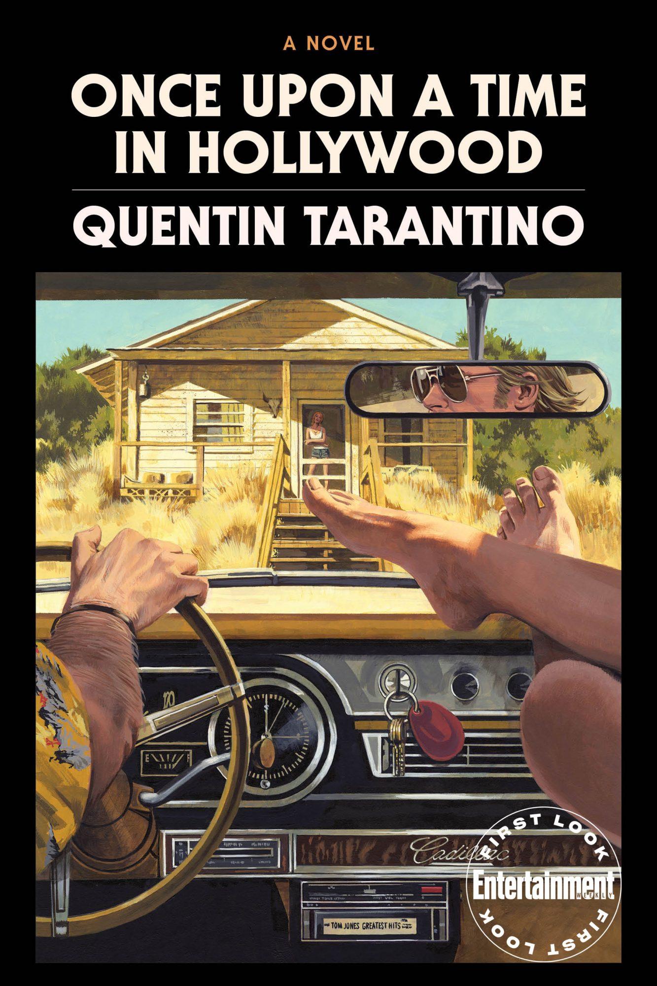 Уновеллизации «Однаждыв… Голливуде» Квентина Тарантино появились обложка