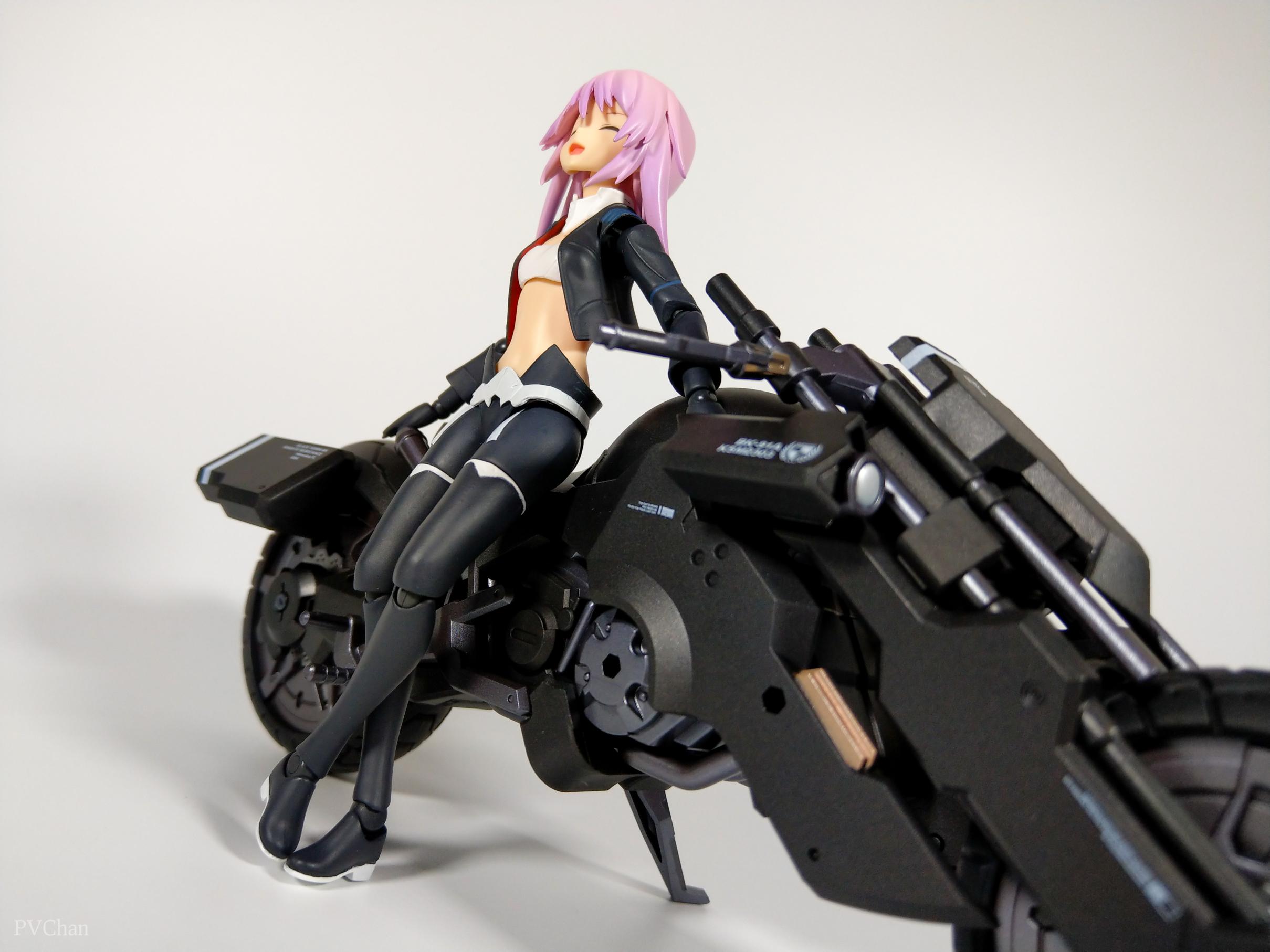 Необычное пополнение коллекции - байк из серии ex:ride от Max Factory. - Изображение 28