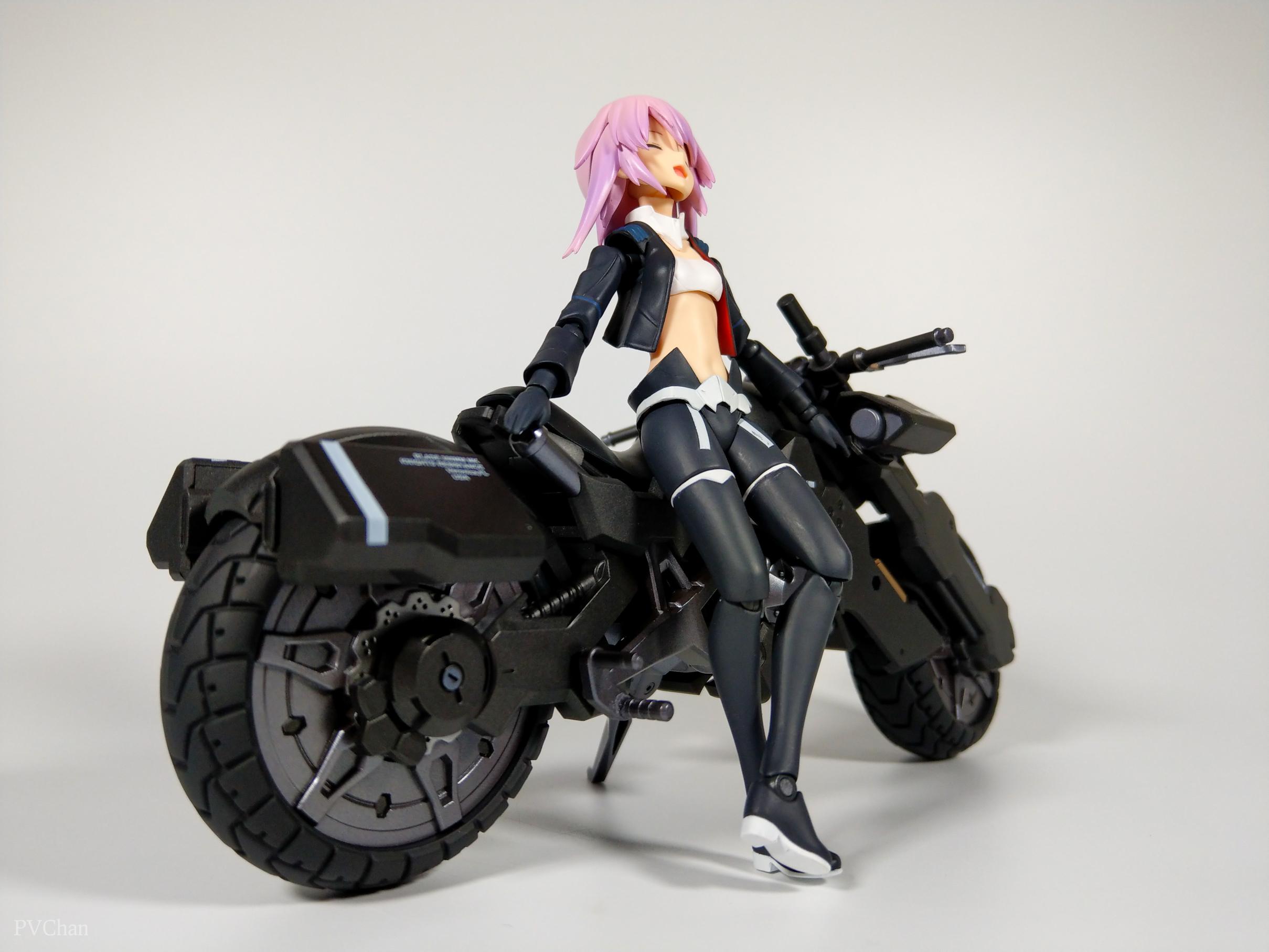 Необычное пополнение коллекции - байк из серии ex:ride от Max Factory. - Изображение 27