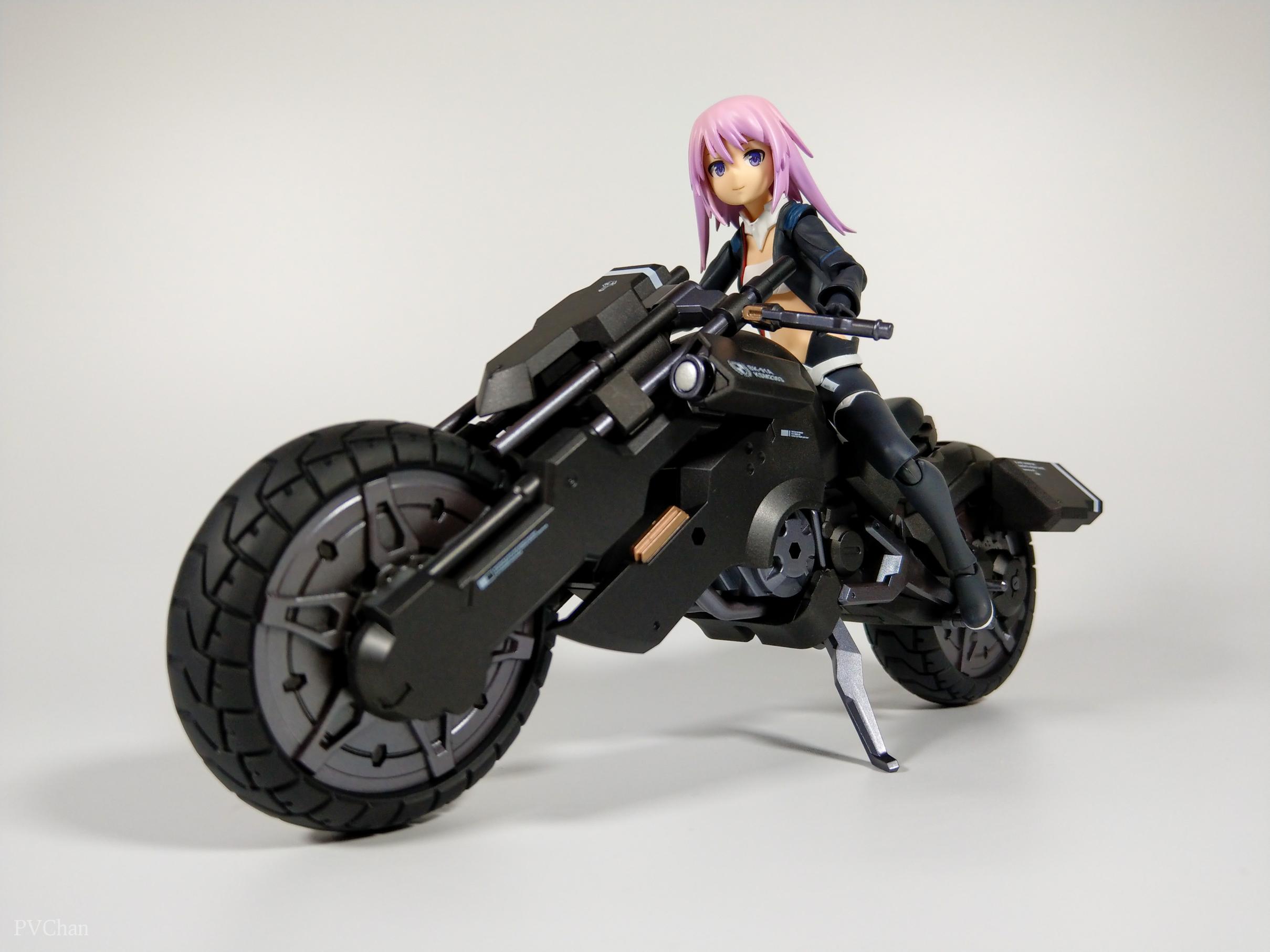 Необычное пополнение коллекции - байк из серии ex:ride от Max Factory. - Изображение 29