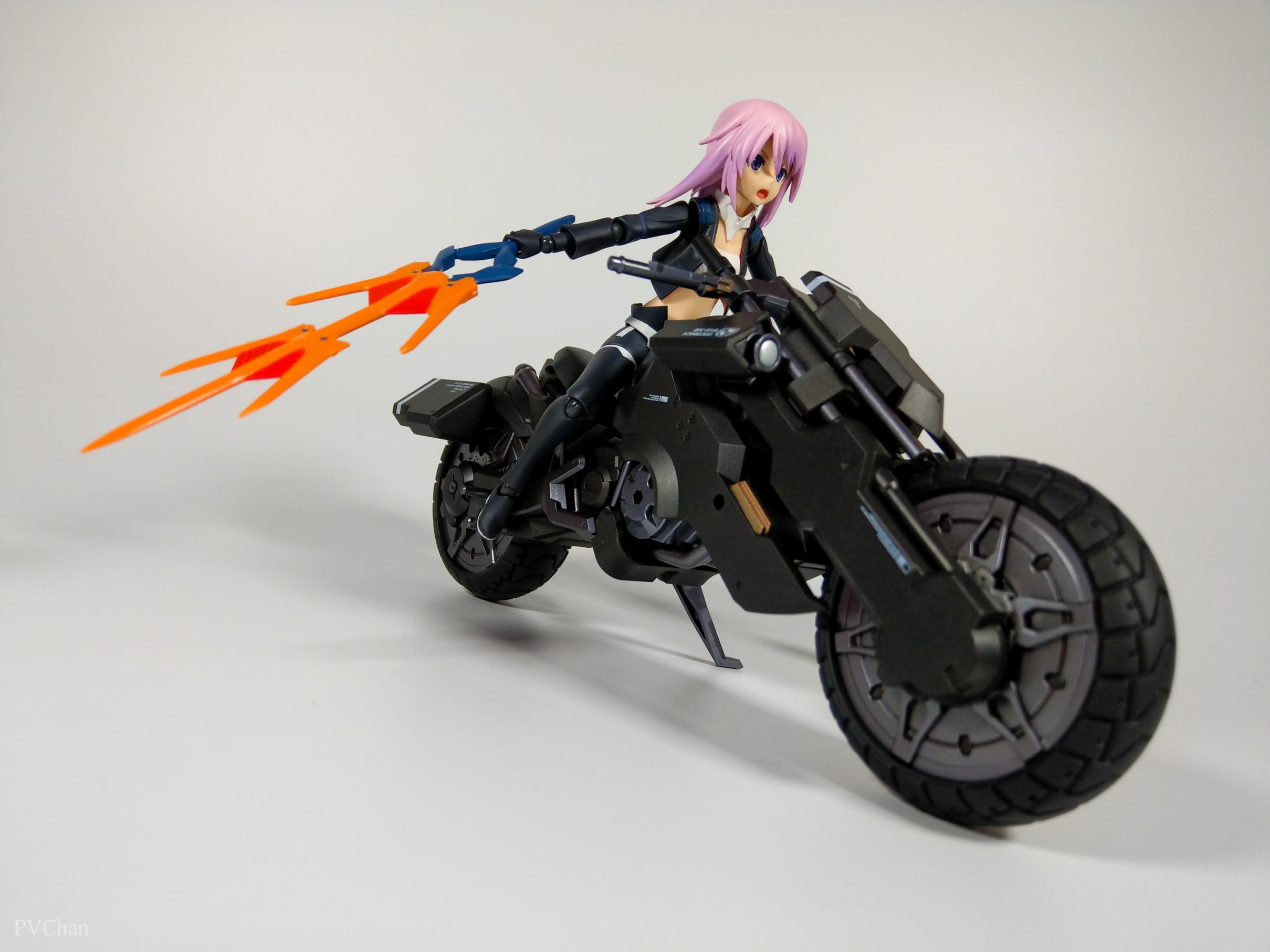Необычное пополнение коллекции - байк из серии ex:ride от Max Factory. - Изображение 34