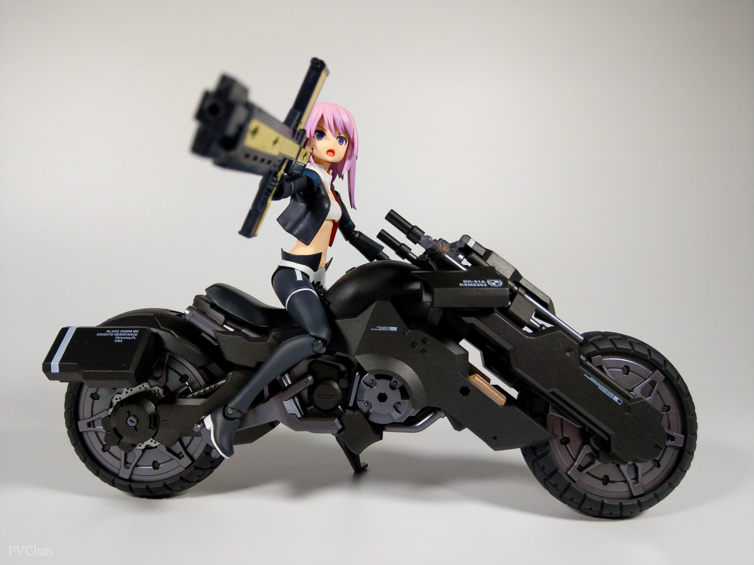 Необычное пополнение коллекции - байк из серии ex:ride от Max Factory. - Изображение 33