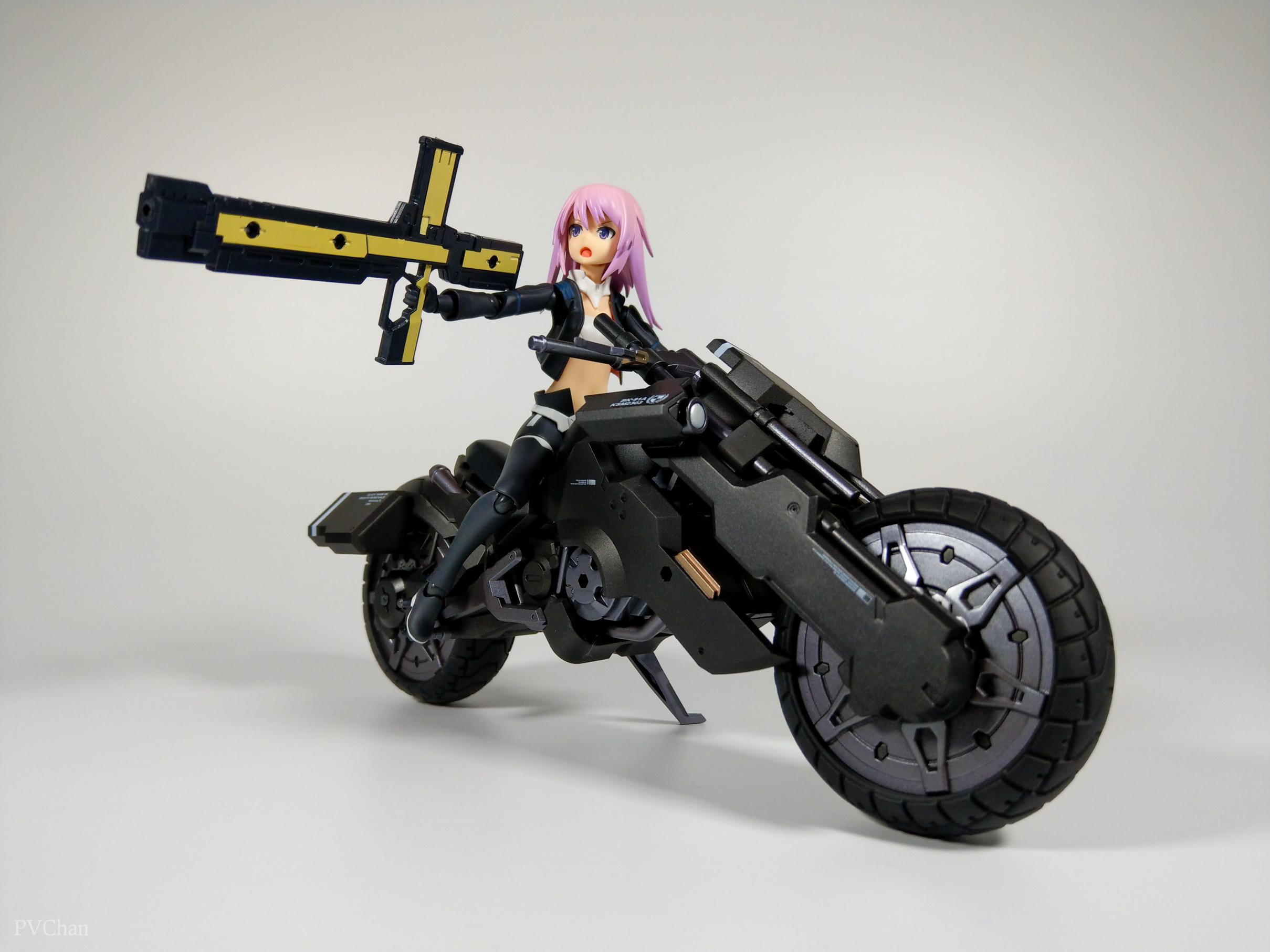 Необычное пополнение коллекции - байк из серии ex:ride от Max Factory. - Изображение 32