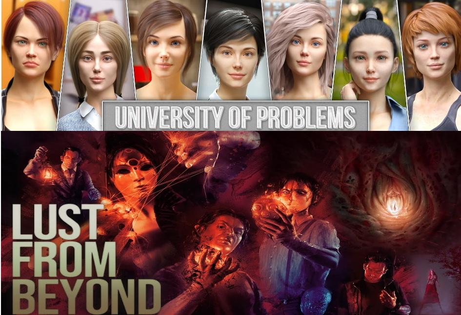 [adult-games] Игровая Клубничка 61 : University of Problems и Lust from Beyond.. - Изображение 1