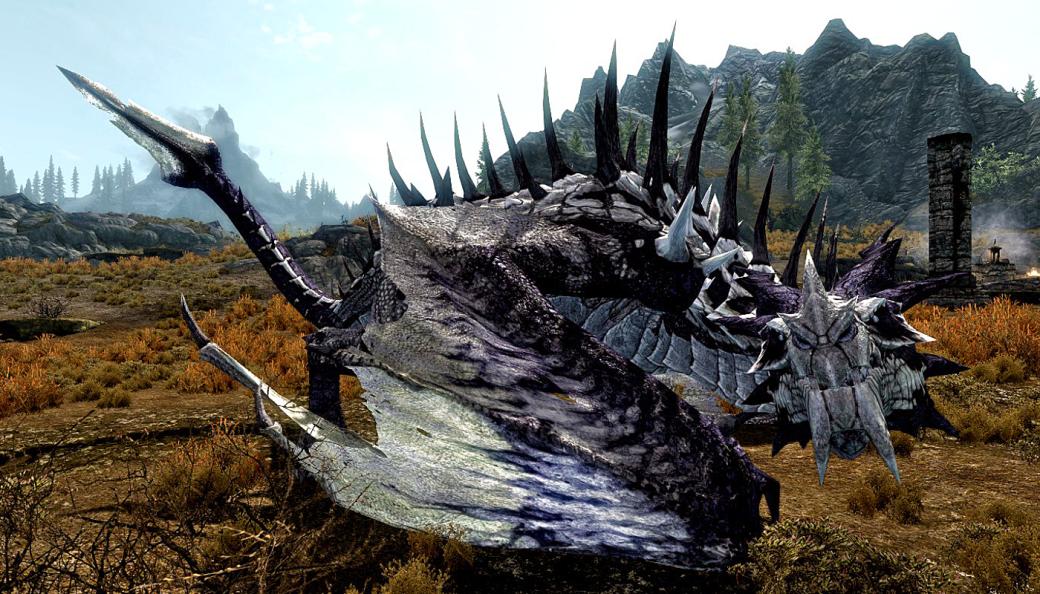 Авторы Fallout 76 использовали для анимации одного из существ скрипты драконов из Skyrim