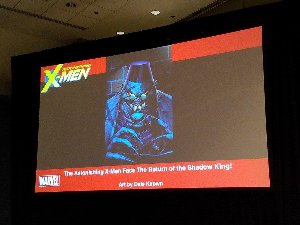 Теперь Король теней будет щекотать нервы целой команде Людей Икс