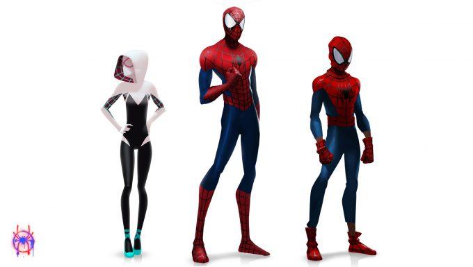 Концепт-арты «Человека-паука: Через вселенные» позволяют взглянуть наальтернативные костюмы героев