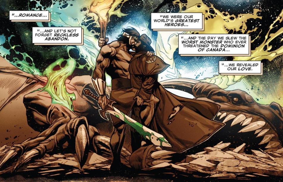 Продолжая наш цикл материалов обЛГБТ-персонажах вкомиксах, мырешили составить подборку персонажей Marvel иDC, которые восновных вселенных гетеросексуальны, авальтернативных мирах— представители сексуальных меньшинств. Оних ирасскажем вэтом материале.