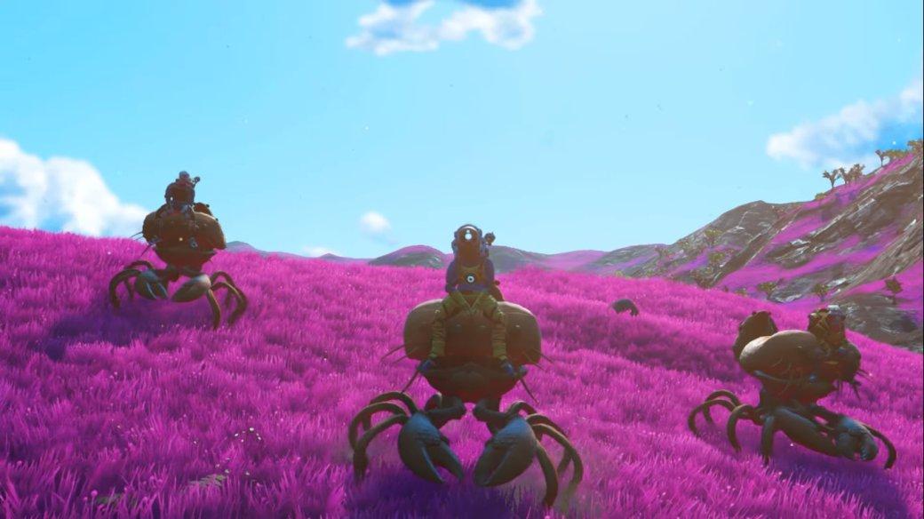 ВNoMan's Sky Beyond можно будет прокатиться нагигантских крабах!
