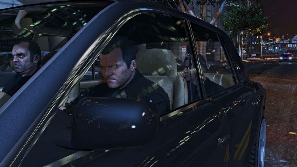 Гифка дня: бесконечные рекламные вывески вGrand Theft Auto5