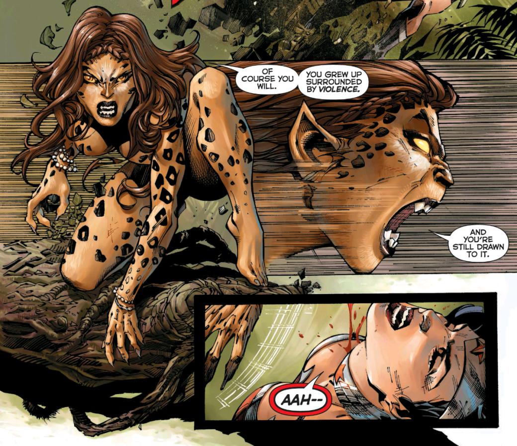 С кем сражается Чудо-женщина в сиквеле