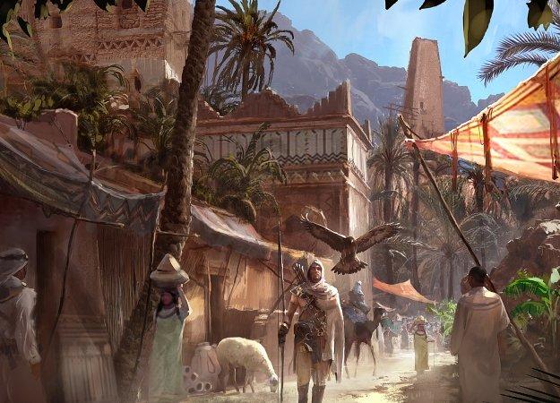 Авторы Assassin's Creed: Origins рассказали осамом большом мире серии