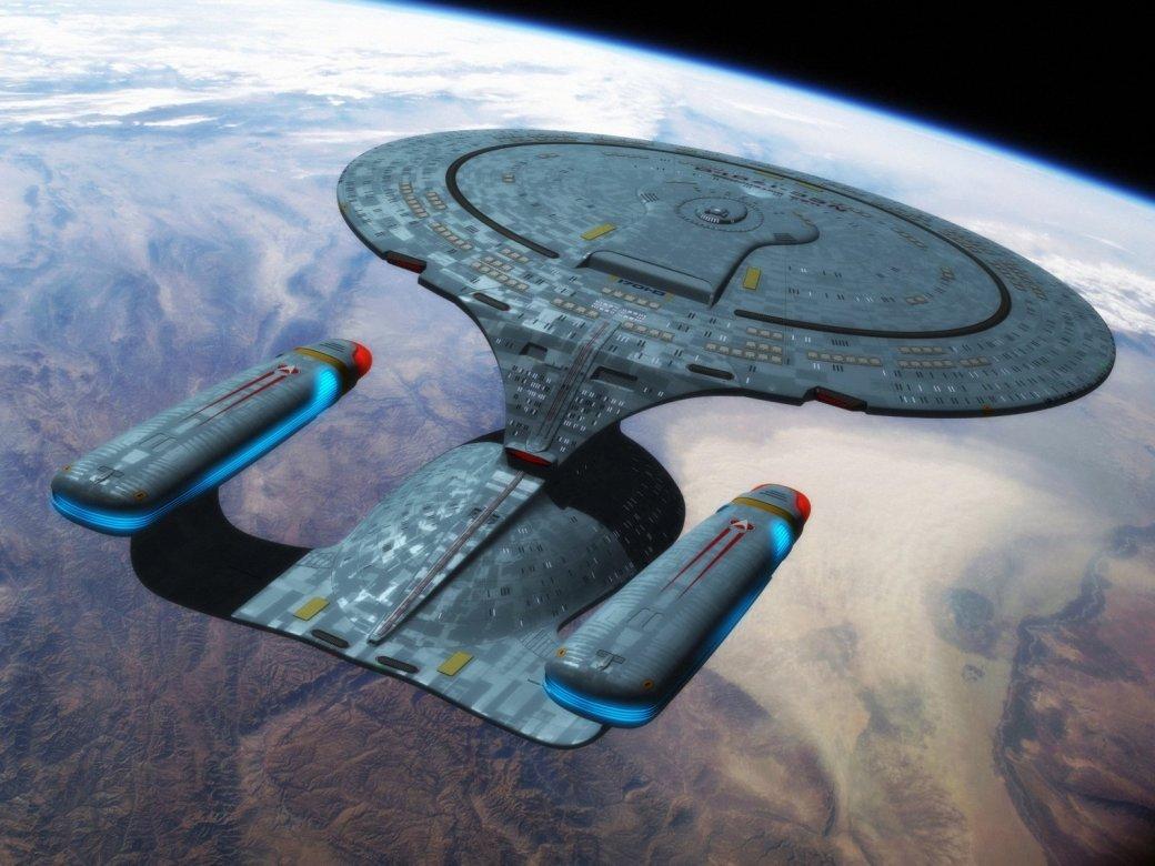 В Китае найдено офисное здание в форме корабля из Star Trek