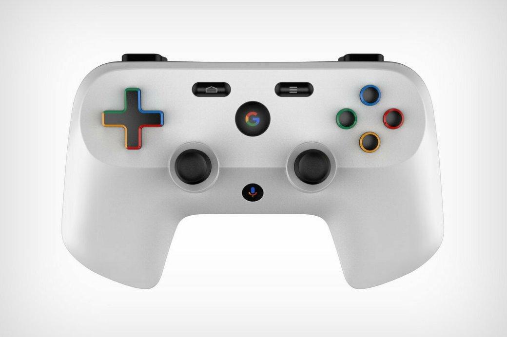 ВСети появились детальные рендеры геймпада Google для новой игровой платформы