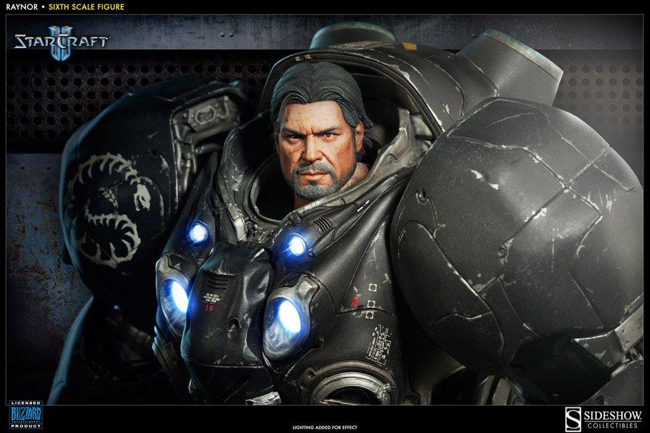 Начался прием предзаказов на фигурку Джима Рейнора из StarCraft II