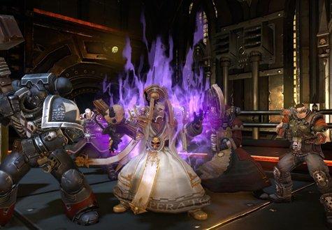 Из MMO Warhammer 40 000 решили сделать одиночную игру