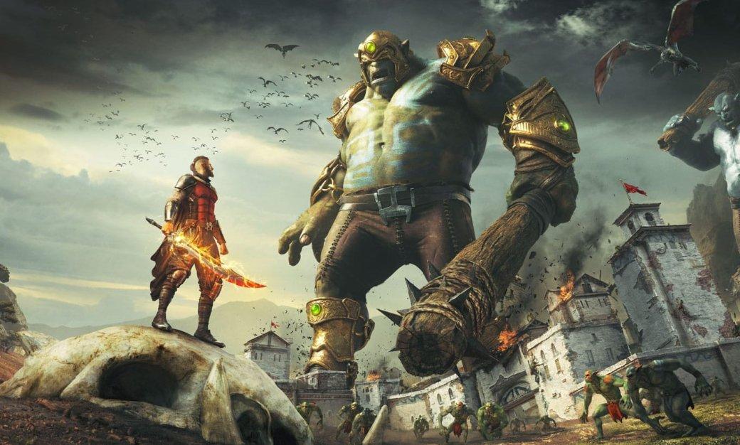 В Extinction герой сражается с великанами — огромными ограми, которых здесь называют равени. Они крушат все на своем пути: один раз топнут — в развалины обратится пара городских кварталов, взмахнут массивной лапой — разрушат стену и заодно отправят на тот свет десяток надоедливых людишек. Защищать человечество от жутких монстров взялись стражи. Они невероятно быстро бегают, умеют парить в воздухе и даже используют крюк-кошку, чтобы забраться повыше — самое то для борьбы с исполинами. Выходит, у нас есть игра, где можно почувствовать себя супергероем, способным одним взмахом меча отрубить великану руки и ноги, а сами колоссы превращают в труху целые города. Может ли она быть плохой? Еще как, черт возьми.