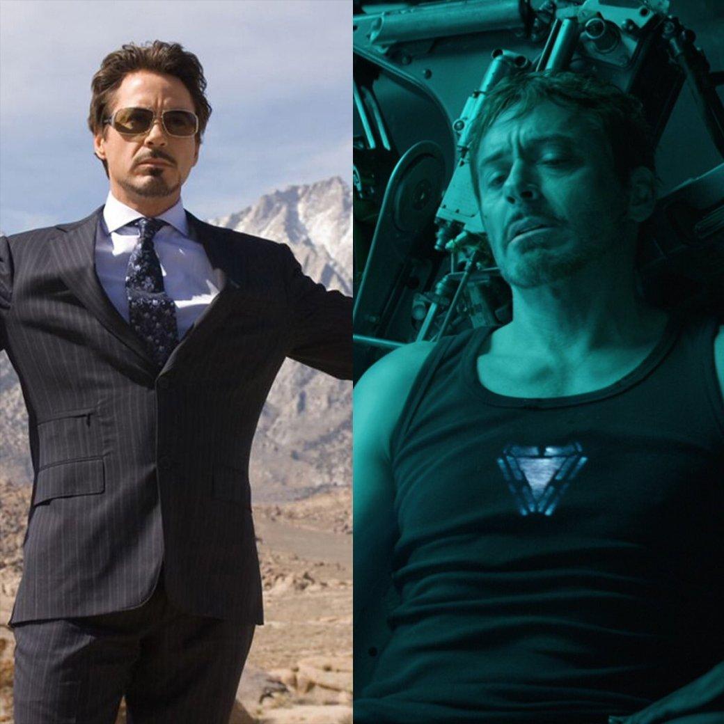 #10YearChallenge— как задесять лет преобразились герои кинокомиксов?