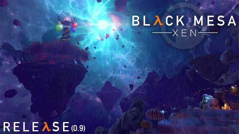 Бета-тестирование Xen для Black Mesa закончилось. Игру можно полностью пройти