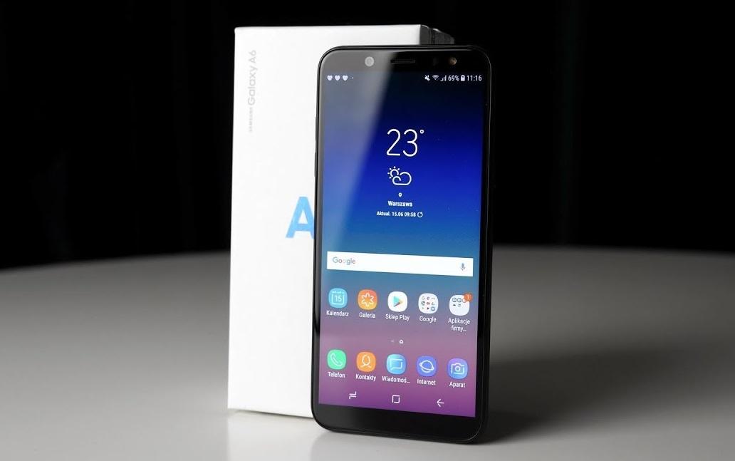 Смартфон Samsung GalaxyA6 (2018) получил Android9.0 Pie сфирменной оболочкой One UI