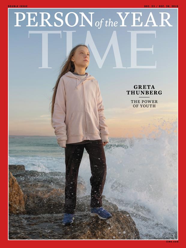 Грета Тунберг стала человеком 2019 года поверсии журнала Time