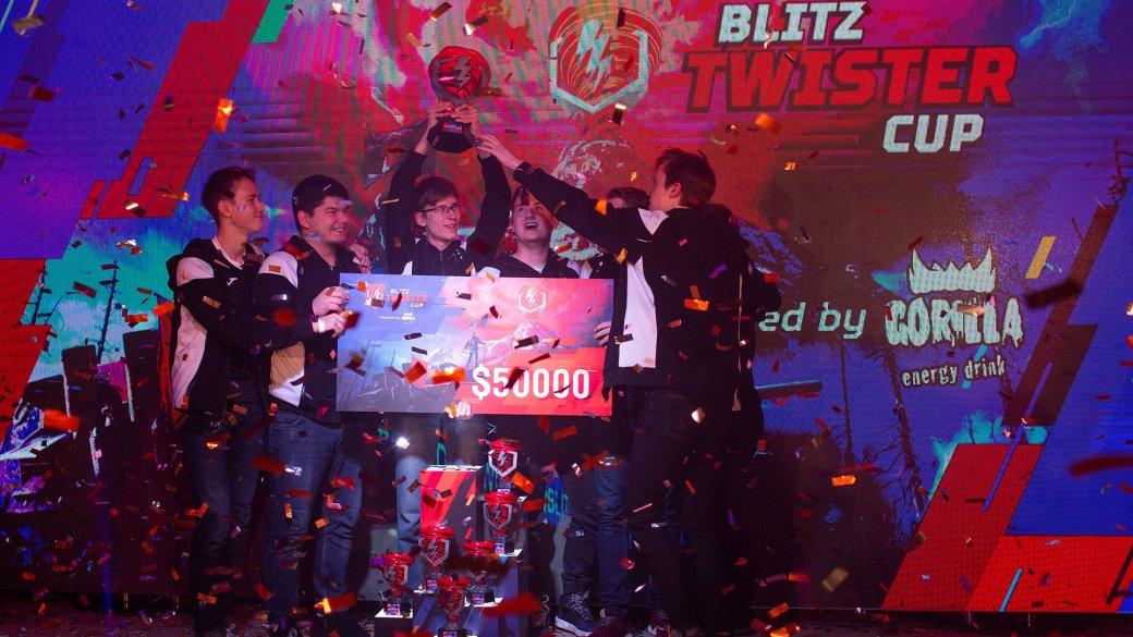 Победу в турнире Blitz Twister Cup 2019 Powered by Tornado Energy одержала команда 7Star