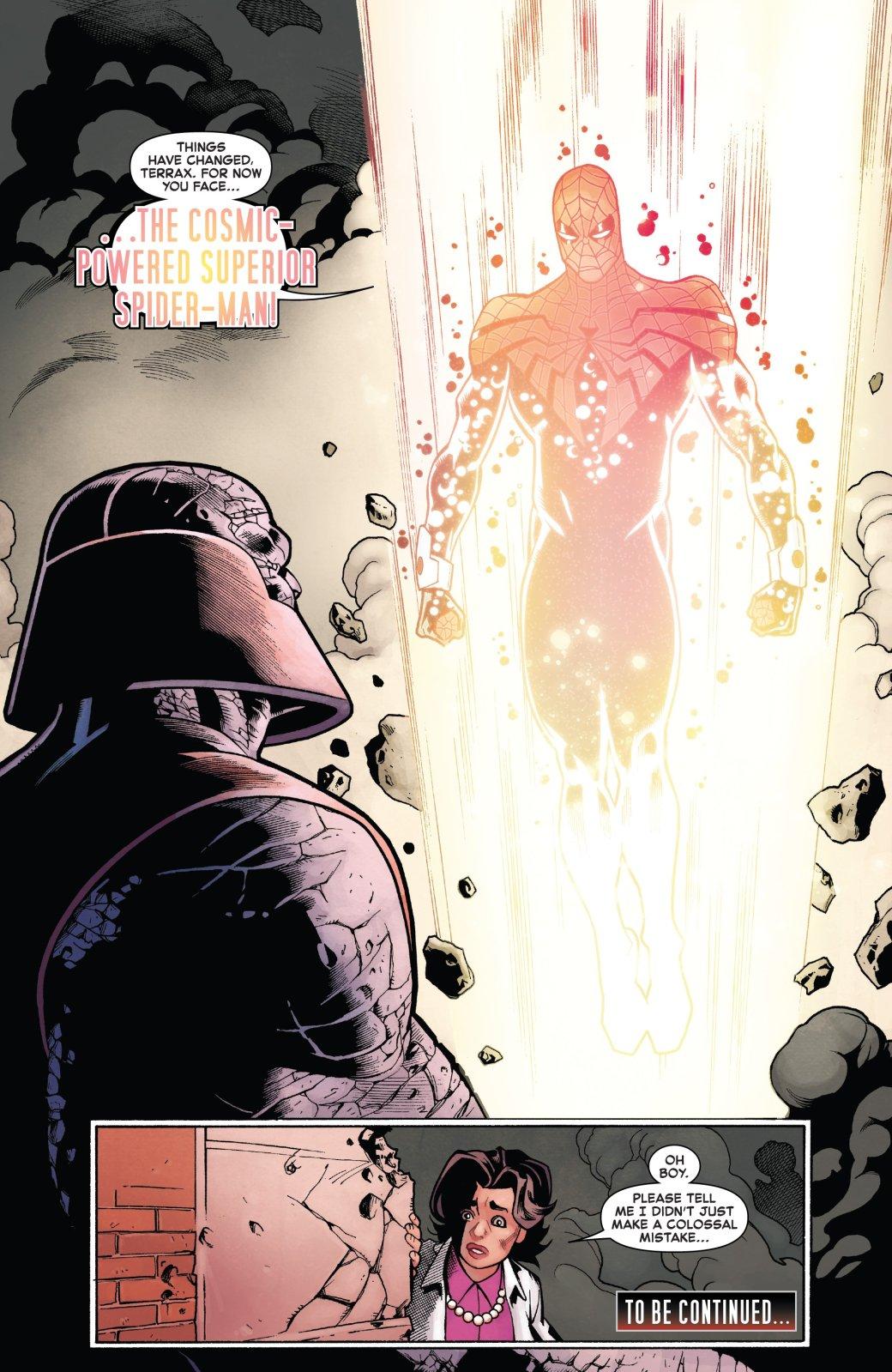 Совершенный Человек-паук получил новую суперсилу— что произошло сОтто Октавиусом?
