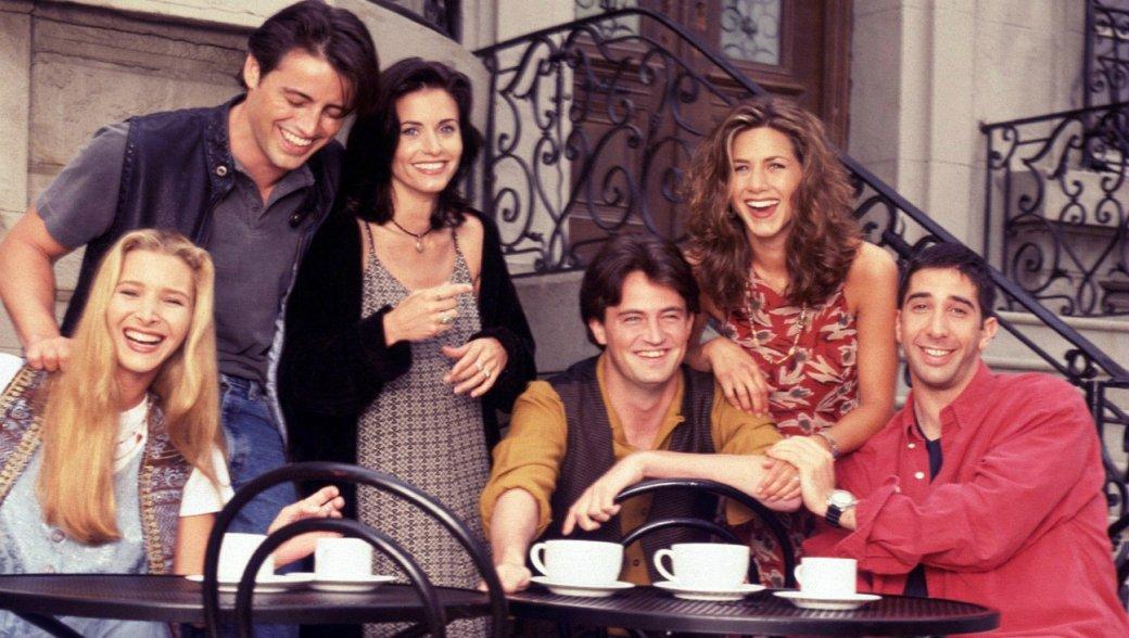 25 лет назад, 22сентября 1994 года, наамериканском канале NBC стартовал один изсамых популярных ситкомов мира— Friends, известный унас как «Друзья». ВРоссии шоу тоже пользовалось огромной популярностью— его многократно показывали понескольким телеканалам. Всвязи сэтим мырешили оглянуться наприключения Рэйчел, Джоуи, Моники, Фиби, Чэндлера иРосса.