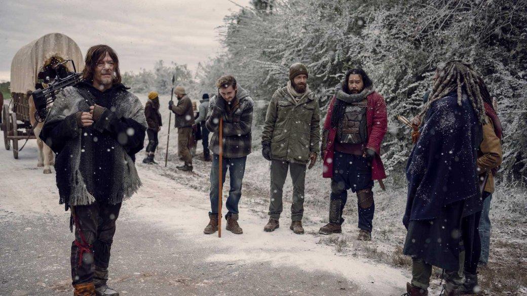 Дэрил, Кэрол иМишонн готовы кбитве— вышел постер к10 сезону «Ходячих мертвецов»