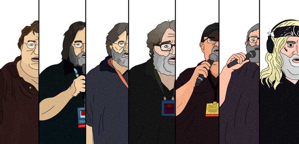 7 оттенков Габена. Как глава Valve выходил к публике на TI по Dota 2