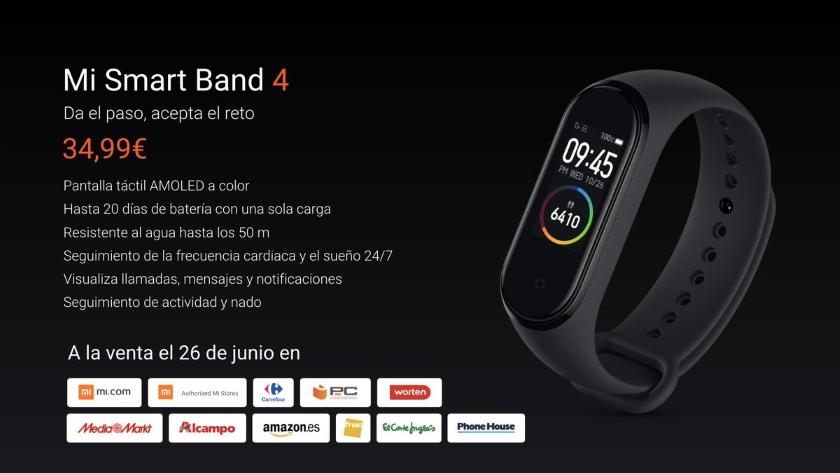 Xiaomi MiBand 4представили вЕвропе: дороже исназванием MiSmart Band4