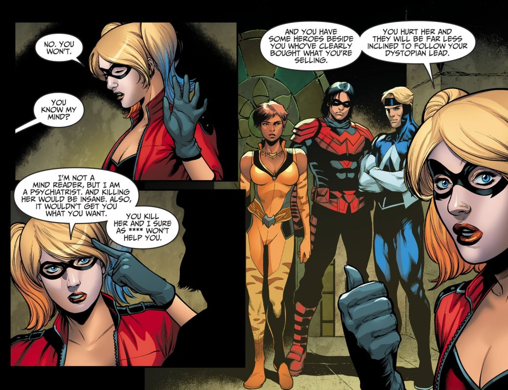 В Injustice 2 Ра'с Аль Гул тоже решил собрать свою Лигу справедливости