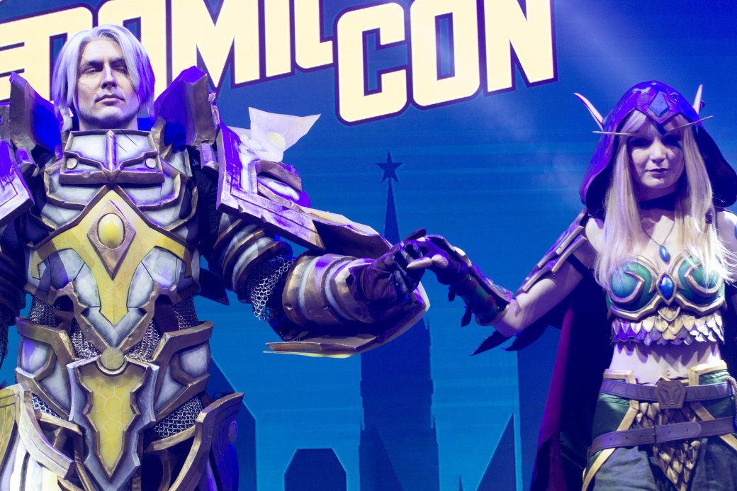 Dark Souls, «Ведьмак» и герои Marvel. Косплей наComic Con Russia и«Игромире» 2019