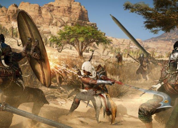 Авторы Assassin's Creed: Origins ответили навопросы обоевой системе