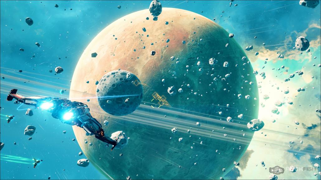 Космосим Everspace прошел Kickstarter: игра одобрена Крисом Робертсом