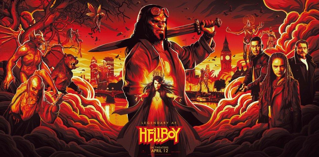 11апреля вкино вышла новая экранизация Хеллбоя— Hellboy отрежиссера Нила Маршалла срейтингом R, где знаменитый демон противостоит могущественной ведьме Нимуэ, современнице короля Артура. Вчесть новой экранизации комиксов Майка Миньолы мырешили вспомнить другие фильмы ссупергероями, одаренными потусторонними силами.