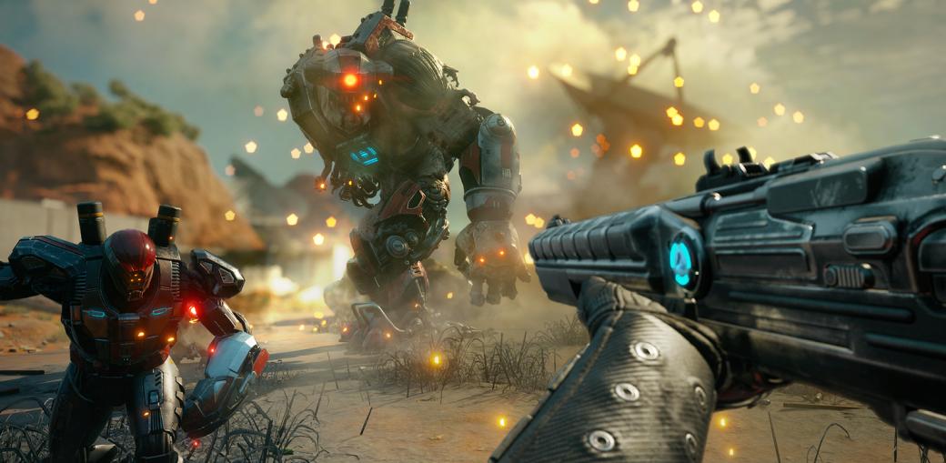 Gamescom 2018. RAGE 2 — яростный шутер, по динамике близкий к DOOM