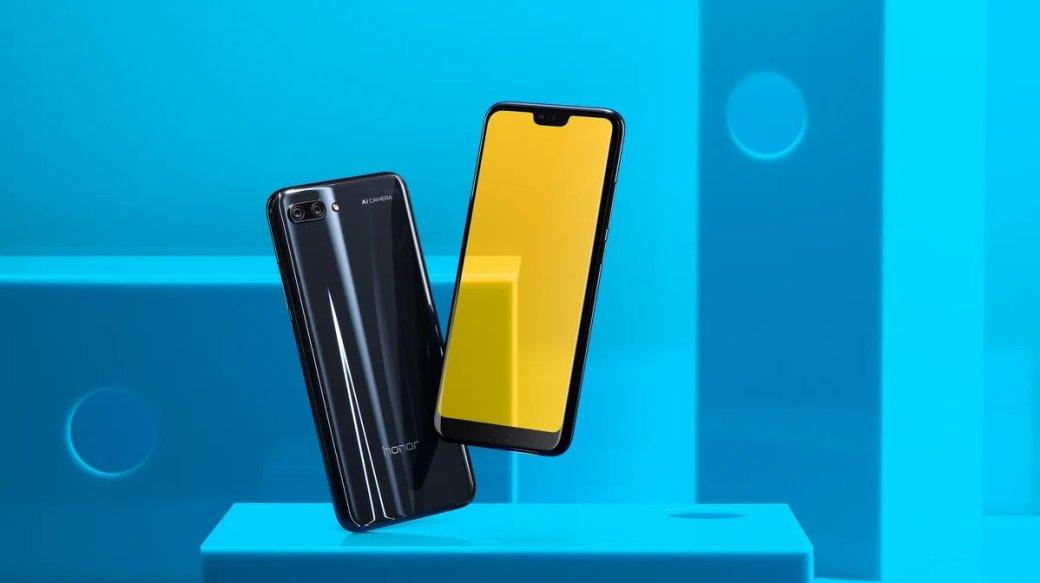 В смартфонах Honor 10 появится новая система автоматической стабилизации изображения