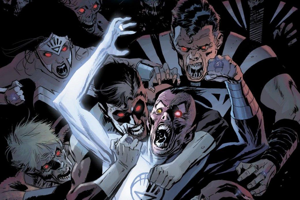 13ноября вышел очередной выпуск «Баек изсклепа» отDCпод названием Tales From the Dark Multiverse: Blackest Night, где читателю предложили посмотреть наальтернативное развитие событий одного изкрупнейших событий вовселеннойDC.