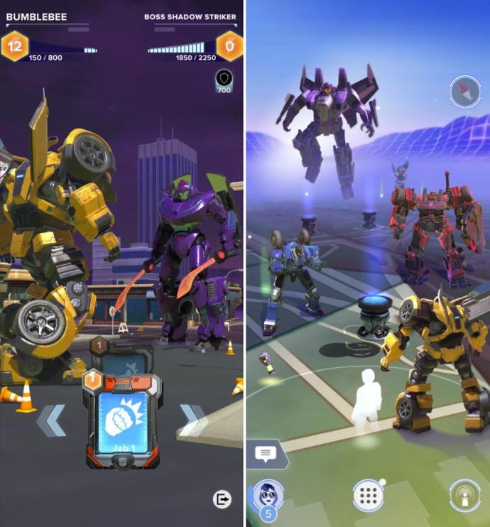 Авторы Pokémon Goанонсировали AR-игру про трансформеров— Transformers: Heavy Metal