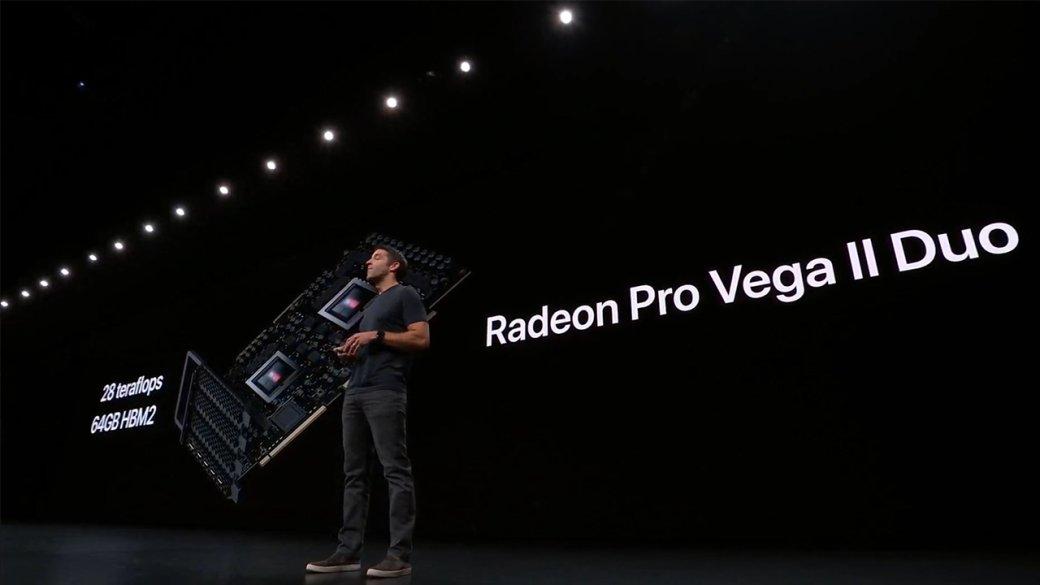 AMD представила Radeon Pro Vega IIиPro Vega IIDuo: мощные видеокарты для топовых сборок