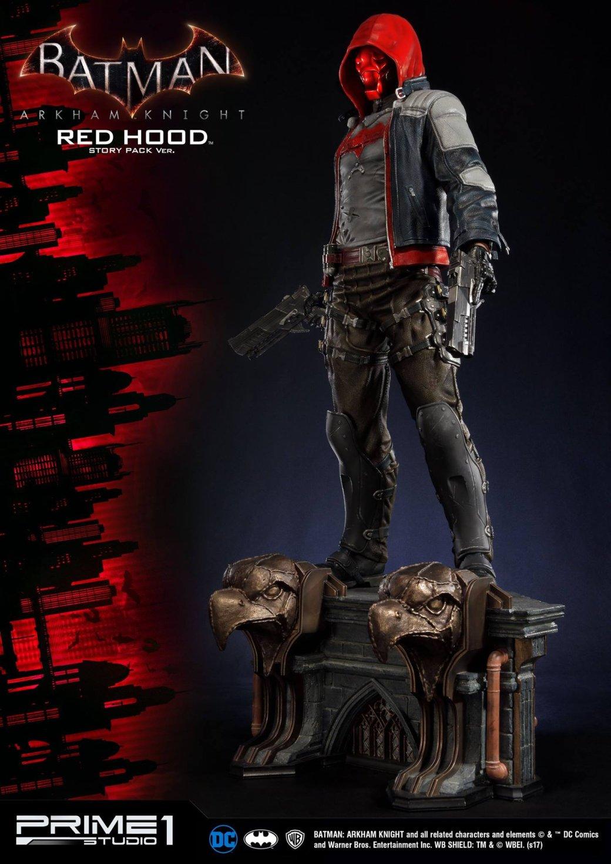 Соскучились по«Рыцарю Аркхема»? Эта статуя Красного колпака для вас