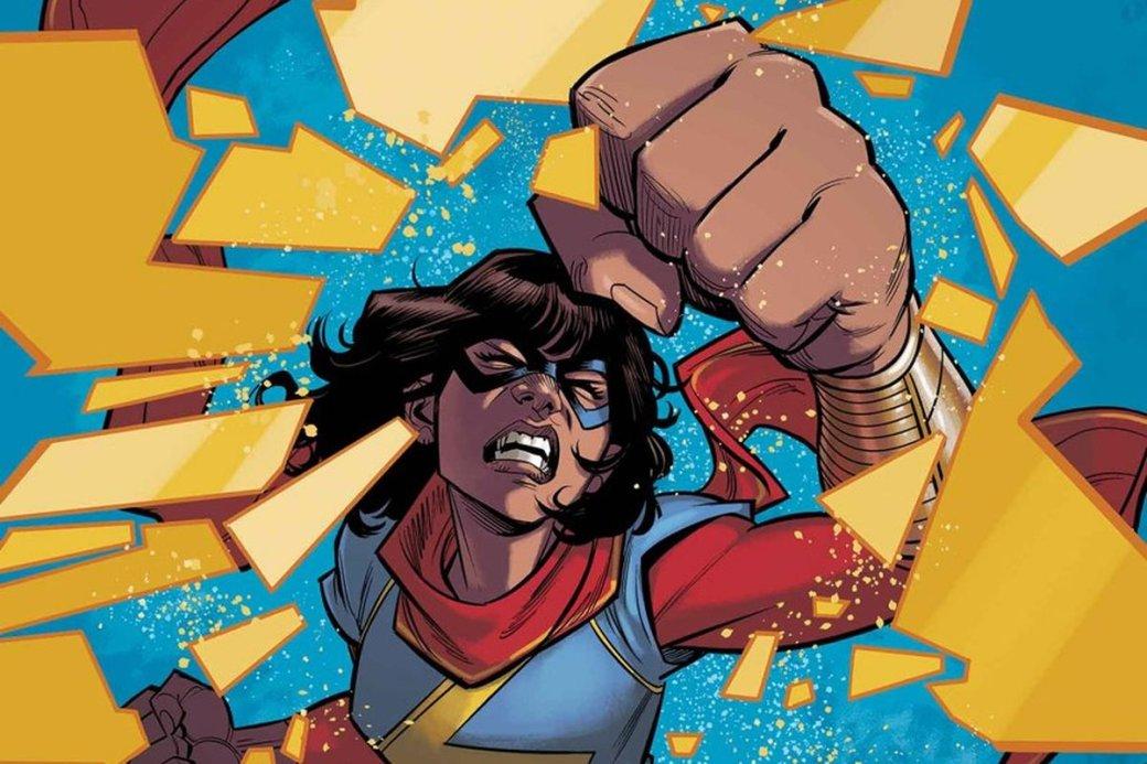 Помимо Женщины-Халк, окоторой янетак давно писала, наD23 Expo Marvel Studios объявили еще исериал оМисс Марвел, КамалеХан. Девочка-подросток, увлекающаяся супергероями ифанфиками, получила способности истала помогать бороться созлодеями вкомиксах. Рассказываем, чтоже изэтого вышло.