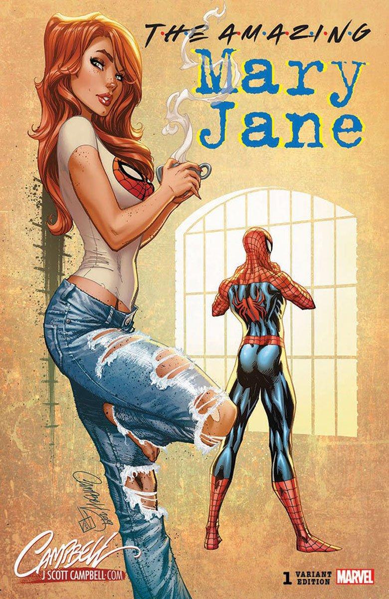 Безумно стильная Мэри Джейн наальтернативных обложках ксольному комиксу