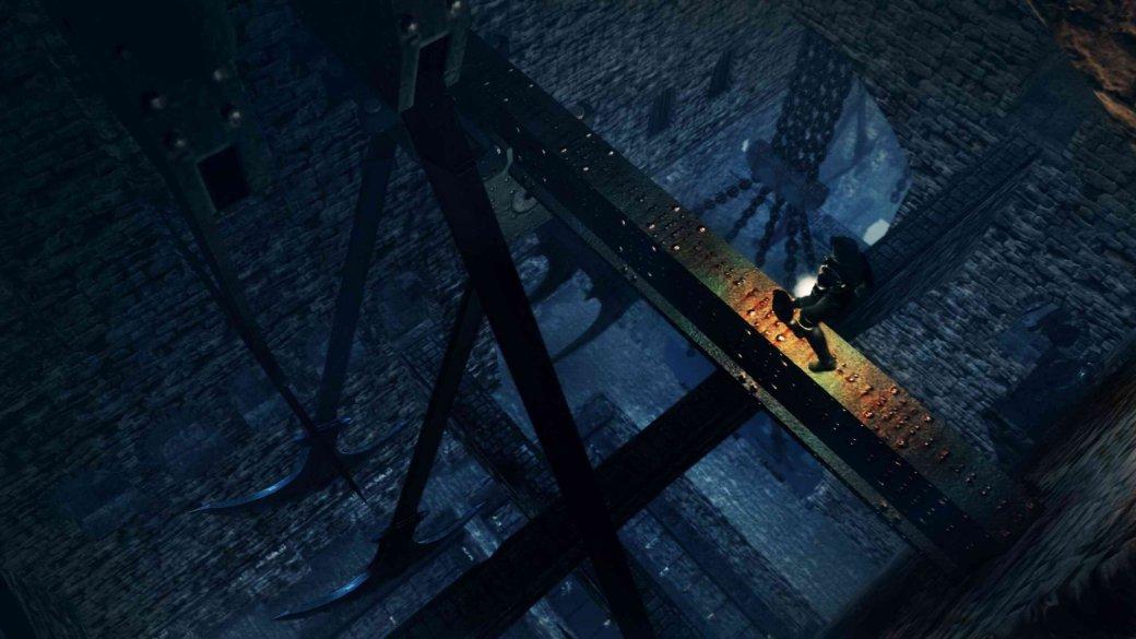 Гифка дня: эмоциональные инеочень качели в Dark Souls