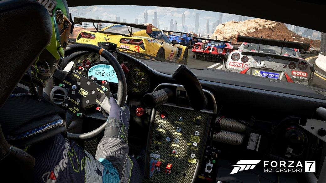 3октября наPCиXbox One вышла Forza Motorsport 7, которую сами разработчики называют лучшей Forza Motorsport извсех когда-либо выпущенных. Смелое заявление, учитывая, что всерии вышло уже больше десятиигр. Однакоже несоврали! Мыпоиграли иубедились сами, атеперь попробуем убедитьвас.