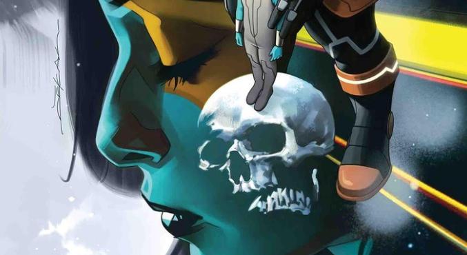 Новый комикс про Таноса расскажет опервой встрече безумного титана иГаморы