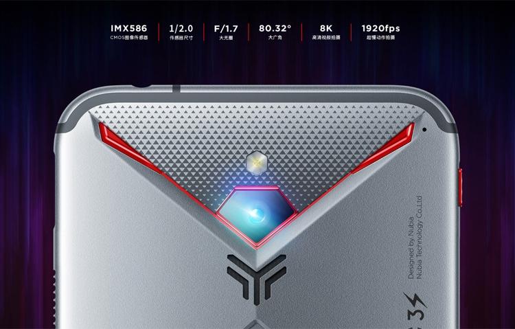 ZTE представила новый геймерский смартфон Nubia Red Magic 3S свентилятором для охлаждения
